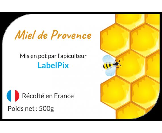 Miel de Provence alvéoles jaunes