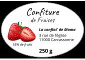 Confiture de fraises - La confiot' de Mama