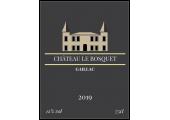 Étiquette vin château le bosquet 2019