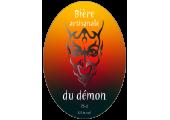 Bière artisanale du démon - Autocollant à personnaliser