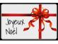 Étiquettes emballage Joyeux Noël