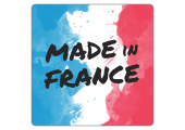 "Sticker ""Made in France"" - fond aquarelle"