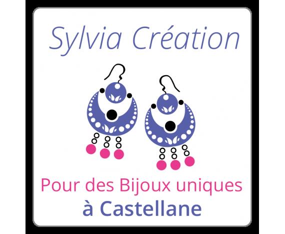 Sylvia Création - étiquette à personnaliser