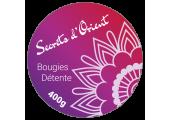 """Bougies """"Secret d'Orient"""""""