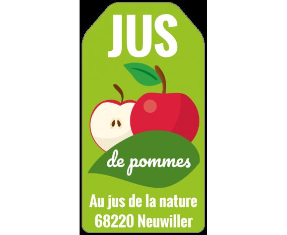 Au jus de la nature - Pommes