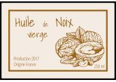 Huile de noix vierge