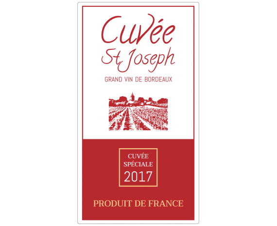 étiquette grand vin de bordeaux