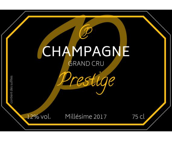 u00c9tiquette personnalis u00e9e champagne