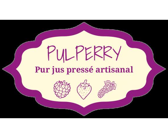 étiquette jus de fruits pressés