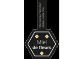 Étiquettes pour pot Miel de fleurs