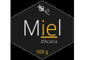 Étiquettes en rouleau - Miel d'Acacia
