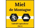 Étiquettes personnalisées - Miel de Montagne