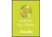 étiquette smoothie bio