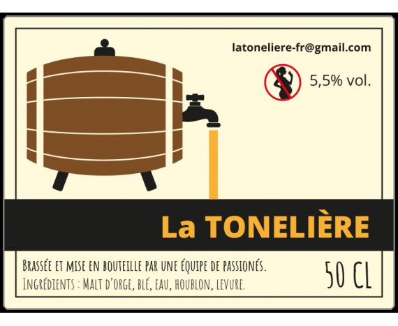 étiquette adhésive personnalisée bière