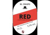 étiquette bière artisanale framboise