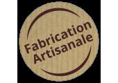 étiquettes fabrication artisanale kraft en bobine