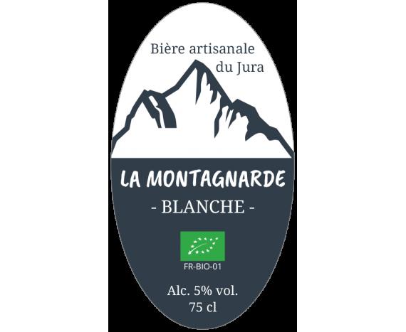 étiquette bière blanche bio