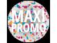 Étiquettes Maxi Promo colorées