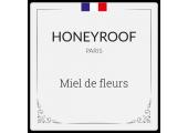 étiquette Miel de fleurs PARIS