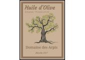 étiquette autocollante huile d'olive