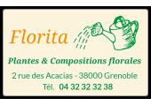étiquette emballage fleuriste