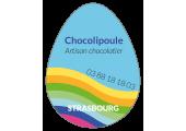 étiquette oeuf chocolat