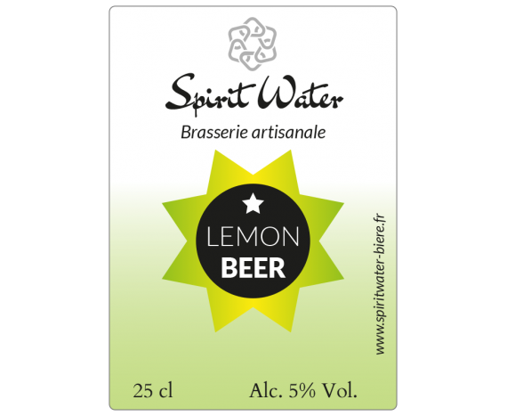 étiquette autocollante bière artisanale