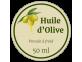 étiquette autocollante huile d'olive pressée à froid