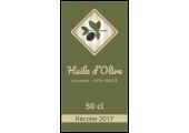 étiquette huile d'olive france
