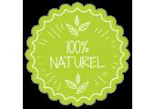 étiquettes autocollantes 100% naturel