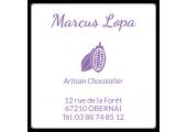 étiquette artisan chocolatier