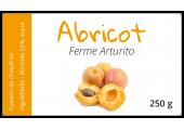 étiquette autocollante confiture abricot