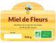 étiquette miel de fleurs