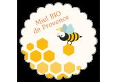 étiquette couvercle pot de miel bio