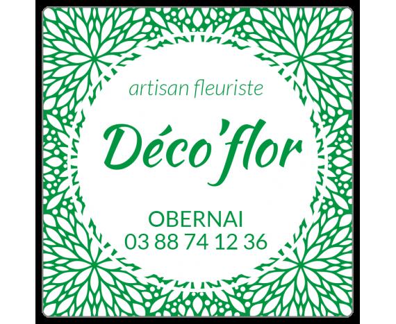 étiquette artisan fleuriste