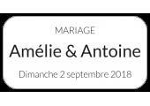étiquette adhésive nom prénom mariage