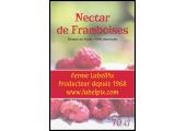 étiquette nectar de framboises