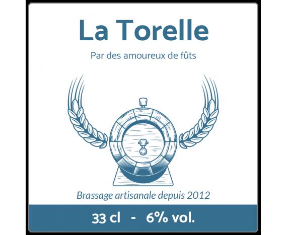 étiquette bière image tonneau