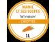 étiquette conserve soupe carottes