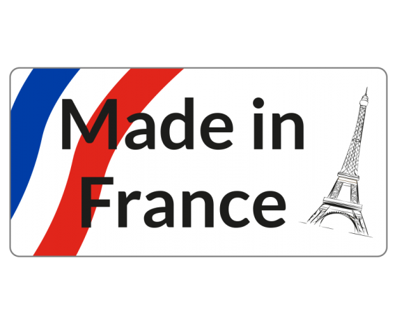 étiquette made in france tour eiffel