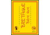 Étiquette adhésive bière Bretagne