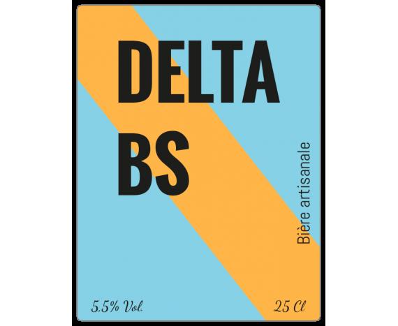 étiquette en rouleau bicolore bière