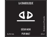 étiquette autocollante bière diabolique