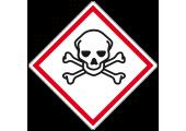 Étiquette danger poison