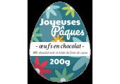 étiquette oeufs en chocolat Pâques
