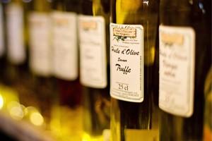 Étiquettes huile d'olive