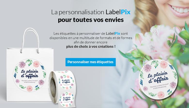 Tous les formats d'étiquettes sont disponibles chez LabelPix